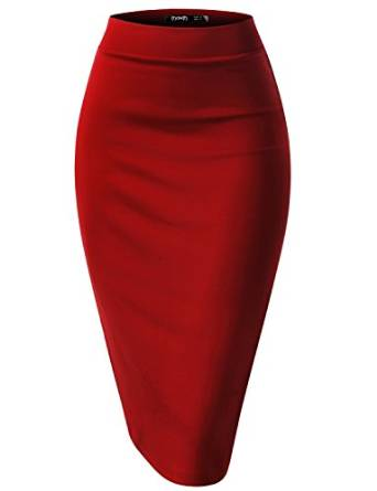 tips to wear red skirt 2