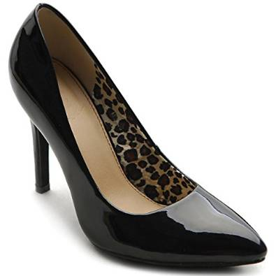 black heel pump 2