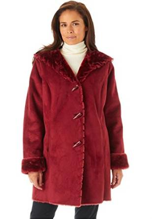 ladies shearling coats & jackets