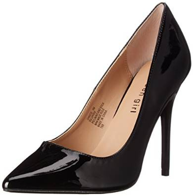 latest black high pump