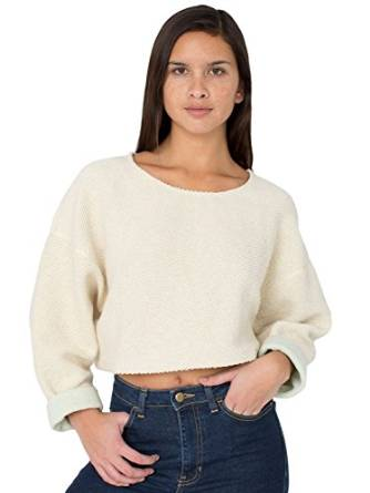 latest cropped sweater 2015