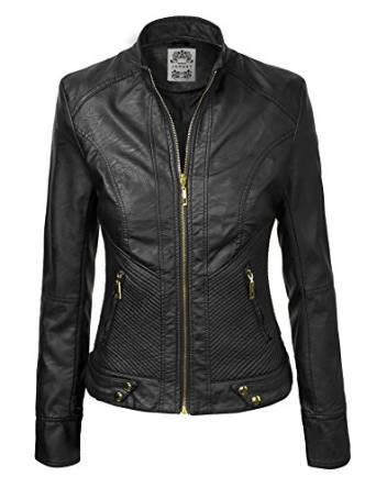 stunning leather jacket