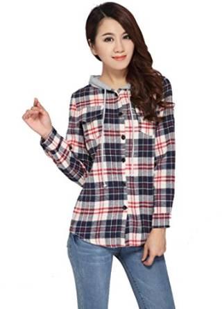tartan womens shirt