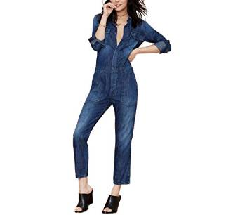 2016 amazing denim jumpsuit