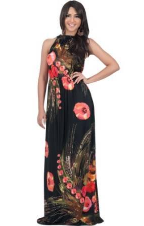 amazing floral print dress