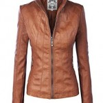 Brown Leather Jackets For Ladies 2016