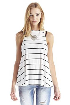 best ladies striped tank top 2016
