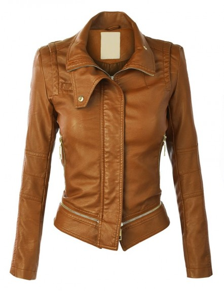 brown leather jackets 2018