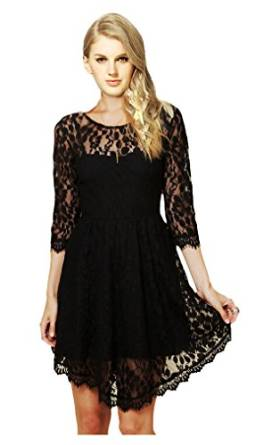 amazing black lace dresses