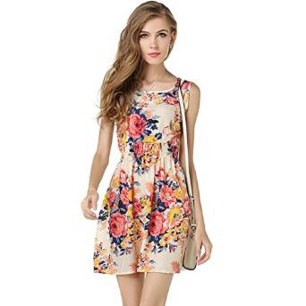 ladies floral frocks 2018