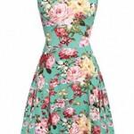 Floral Print Dresses For Women 2016-2017