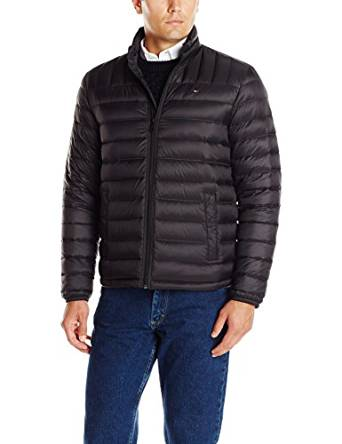 Tommy Hilfiger Men's Packable Down Jacket 2016