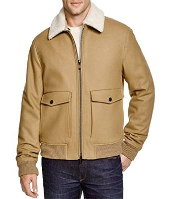 best mens shearling jacket