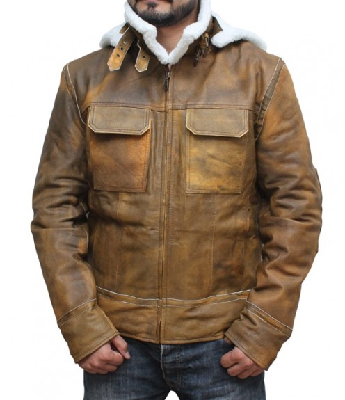 shearling jacket for gents