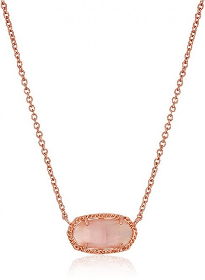 2016-2017 best rose gold necklace