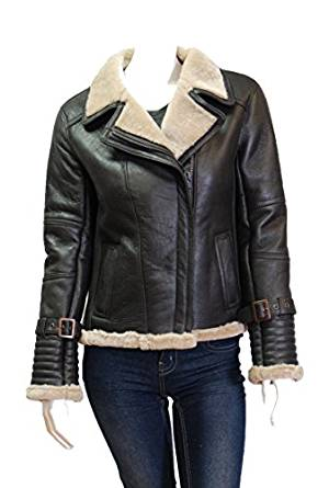 shearling jacket for women 2017