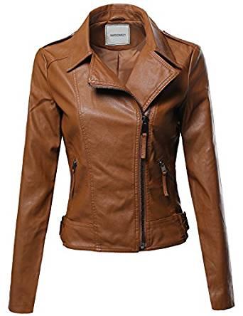 ladies leather jacket 2018