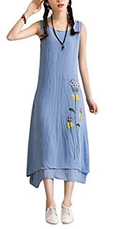 2018 linen dress