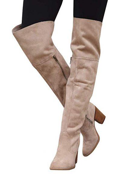 high heel over the knee boots 2020