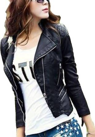 ladies leather jacket 2014-2015
