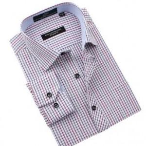 Sleeve-Checkered-Button