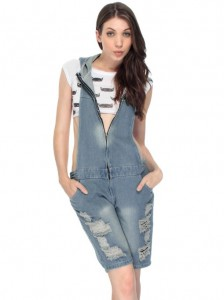 denim jumpsuit for ladies 2014