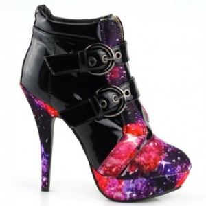 high heel ankle boot for women