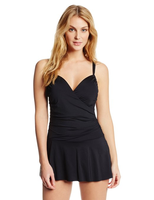 Little Black Swim Dress