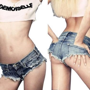 hot ladies denim shorts