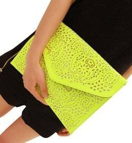 nice colorful clutch
