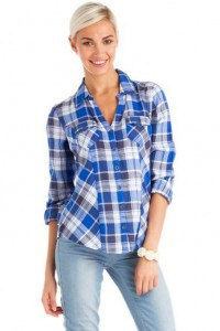 ladies checkered shirt 2014-2015