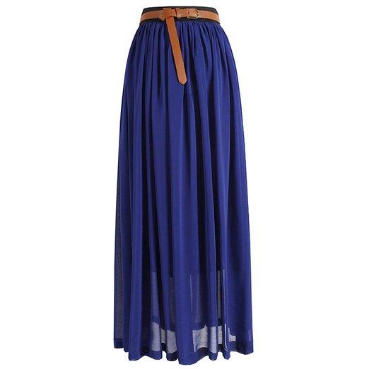 women maxi skirt
