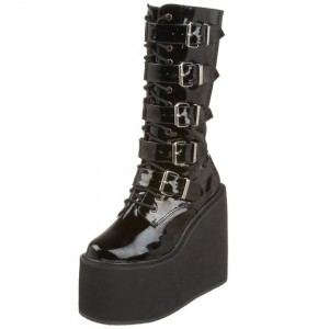 buckle boots for ladies
