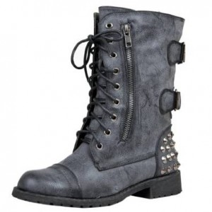 ladies military boot