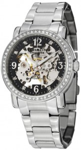 ladies skeleton watch