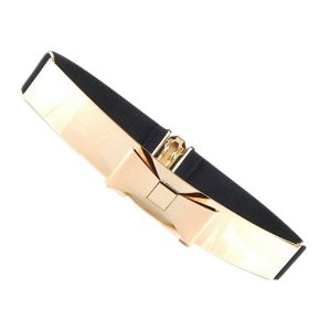 metallic belt for ladies