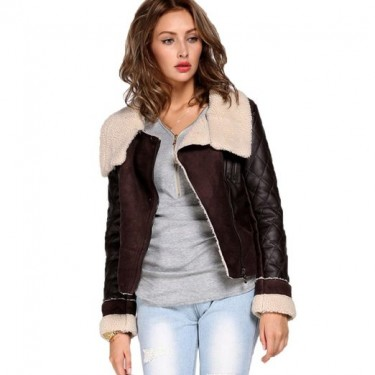 womens winter leather jacket 2014-2015