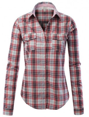 checkered shirt 2015 women