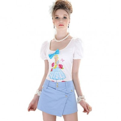 mini skirt asymetrical 2015
