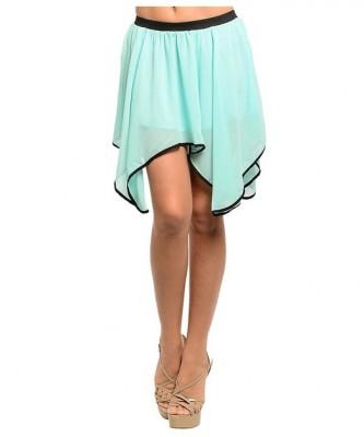 short asymetrical skirt 2015