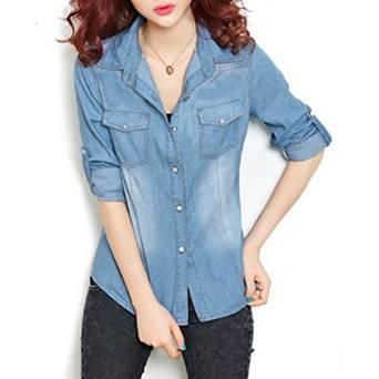 denim shirt for women 2015
