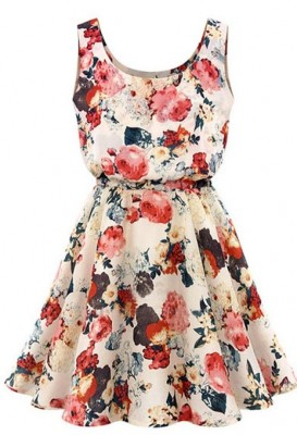 floral dress for women 2015