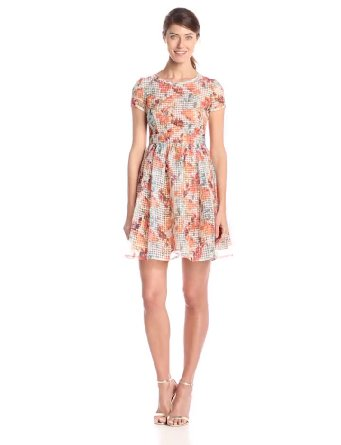 latest floral dress 2015-2016