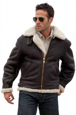 mens shearling jackets 2015-2016