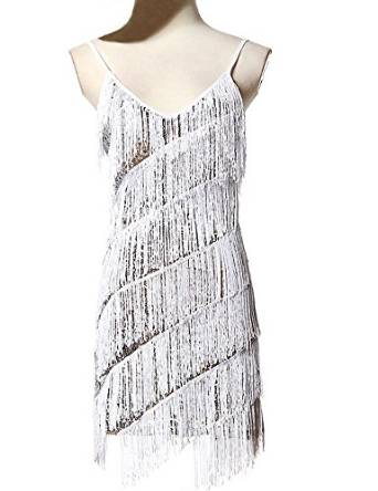 2015 dress with fringe