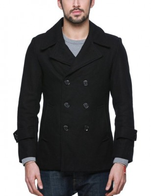 2015 mens pea coat