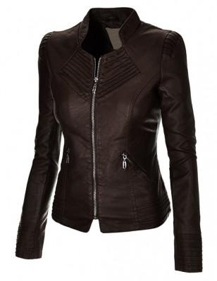 ladies leather jacket 2015