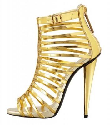 latest metalic gladiator sandals for women 2015
