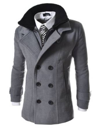 pea coat for men 2016