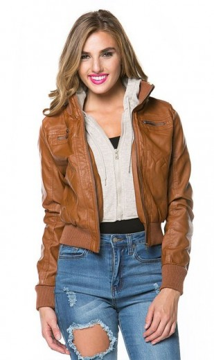 2015 bomber leather jackets